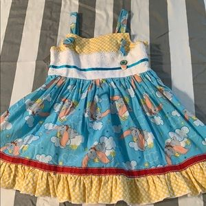 Other - Boutique Custom Dumbo Dress size 4T